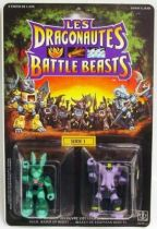Dragonautes (Battle Beasts) - #22 Hare Razing Rabbit & #8 Sledgehammer Elephant