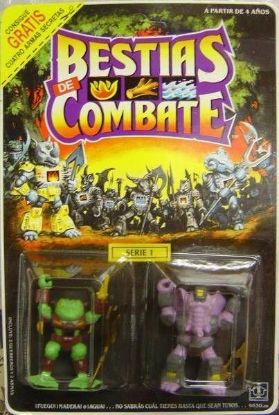 Dragonautes (Battle Beasts) - #7 Horny Toad & #8 Sledgehammer Elephant