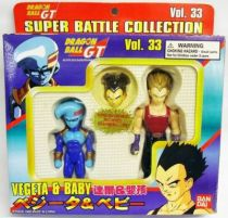 Dragonball GT - Bandai Super Battle Collection Vegeta & Baby