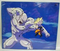 Dragonball GT - Toei Animation Original Celluloid - General Rilldo & SS Goku