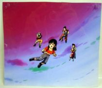 Dragonball GT - Toei Animation Original Celluloid - Pan & co (in the sky)