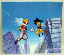 Dragonball GT - Toei Animation Original Celluloid - Pan, Giru & Goku