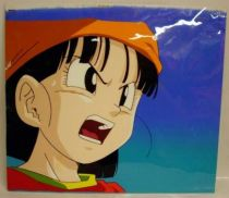 Dragonball GT - Toei Animation Original Celluloid - Pan (shouting)