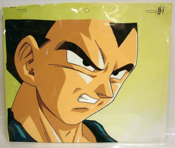 Dragonball GT - Toei Animation Original Celluloid - Vegeta