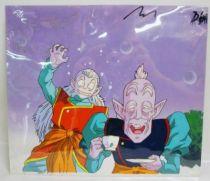 Dragonball Z - Toei Animation Original Celluloid - Kibitôshin & Rou Dai Kaiô Shin