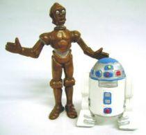 Droids -  PVC  figures Comic Spain - C-3PO & R2-D2