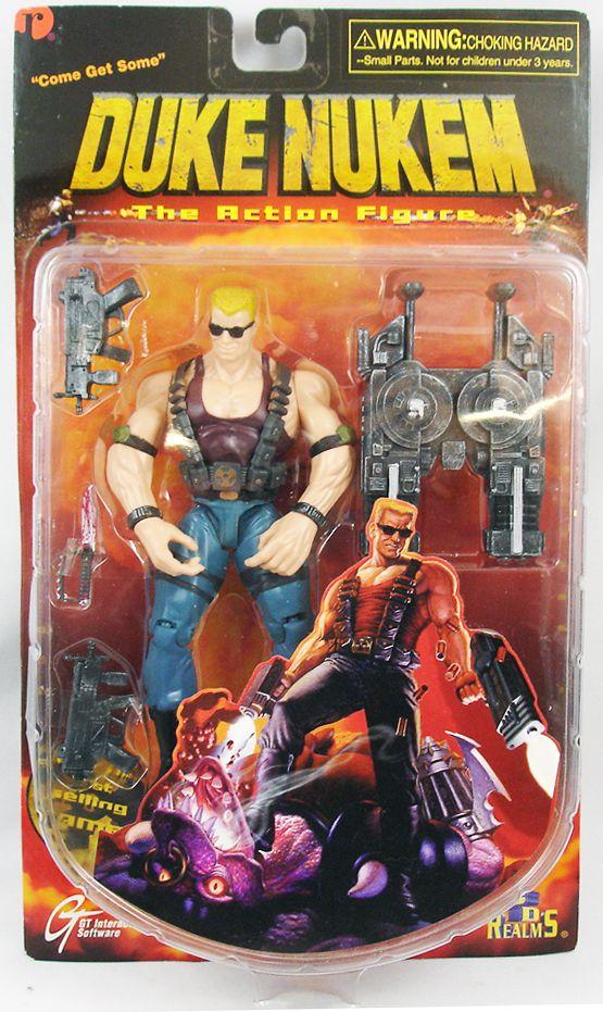 "Duke Nukem - 6\"" action figure - ReSaurus 1997"