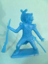 Dulcop - Soft Plastic 55mm Figure - Napoleonic - Dragon (blue)