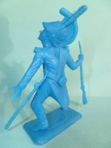 Dulcop - Soft Plastic 55mm Figure - Napoleonic - Dragon (blue)