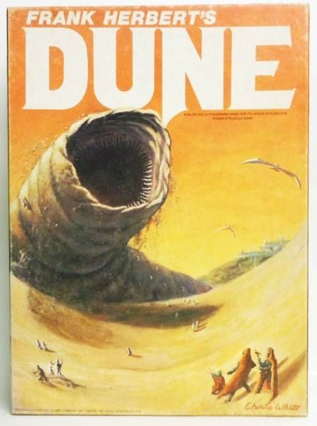DUNE - Avalon Hill Game Compagny 1979 - Bookcase Game