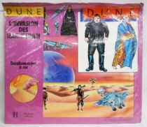 DUNE - Hachette Jeunesse - Rub-Down Transferts on Background scene - The Harkonnen Invasion