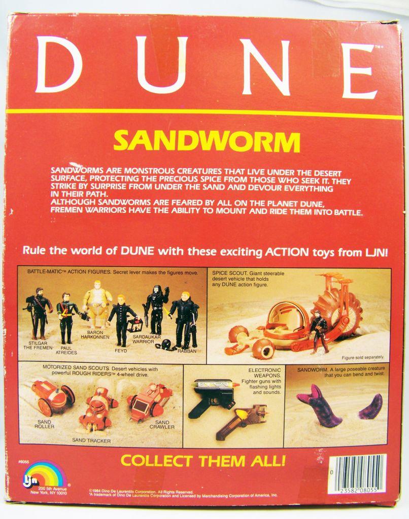 DUNE - LJN Figurine articulée - Sandworm (neuf en boite) 03
