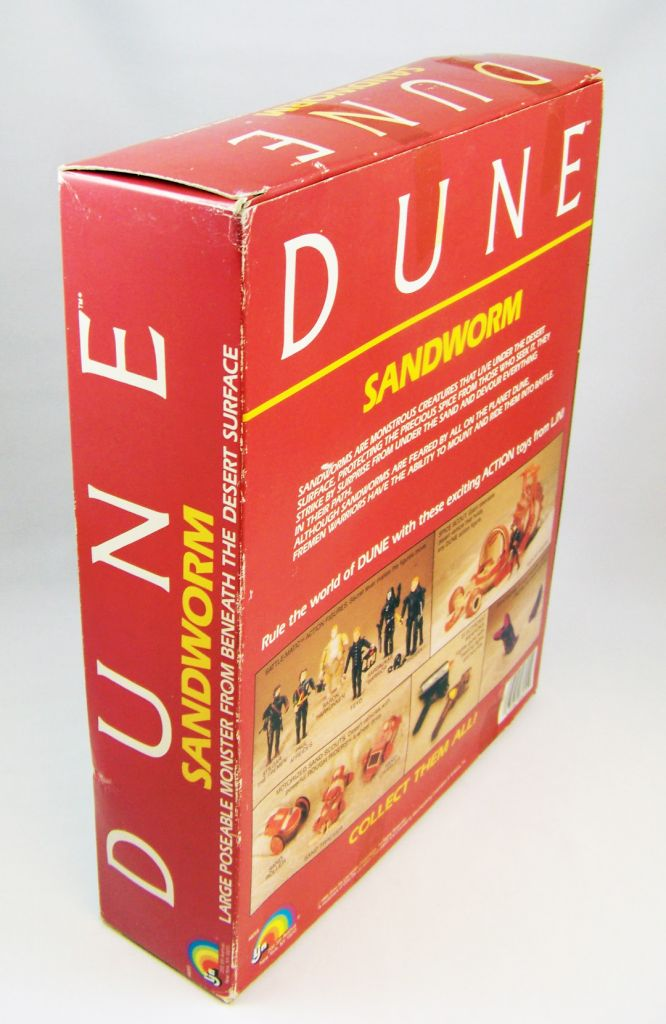 DUNE - LJN Figurine articulée - Sandworm (neuf en boite) 04