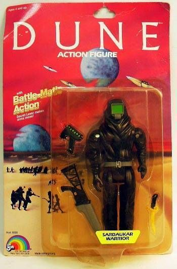 DUNE - LJN Action Figure - Sardaukar warrior (Mint on card)