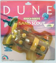 DUNE - LJN Vehicle - Rough Riders Sand Tracker (Mint on card)