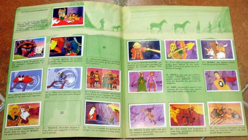 Dungeons & Dragons - Junior IT Stickers collector book