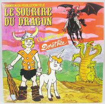 Dungeons & Dragons - Mini-LP Record - Original French TV series Soundtrack - AB Productions 1987