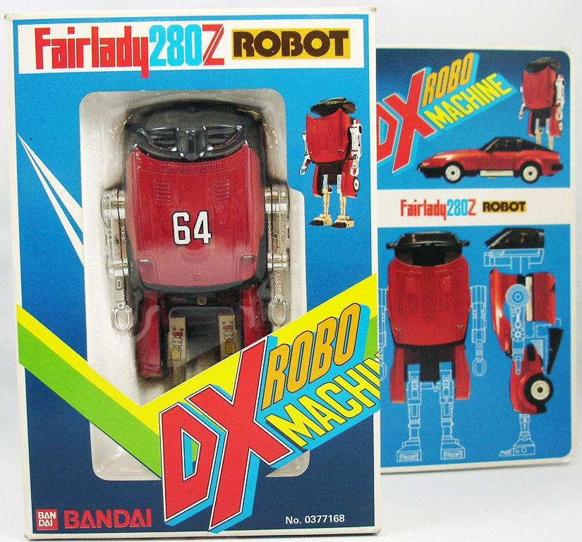 DX Robo Machine - Zeemon Fairlady 280Z