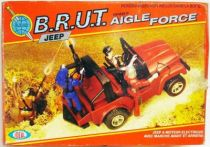 Eagle Force - B.R.U.T. Jeep - Mego-Ideal