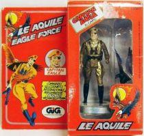 Eagle Force - Mego-GIG - Captain Eagle