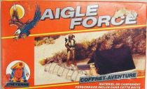 Eagle Force - Mego-Idéal - Adventure set : Red Wing with Military Outpost