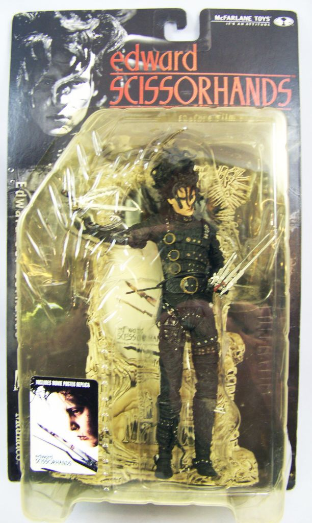Edward Scissorhands - Movie Maniacs 3 - McFarlane Toys 01