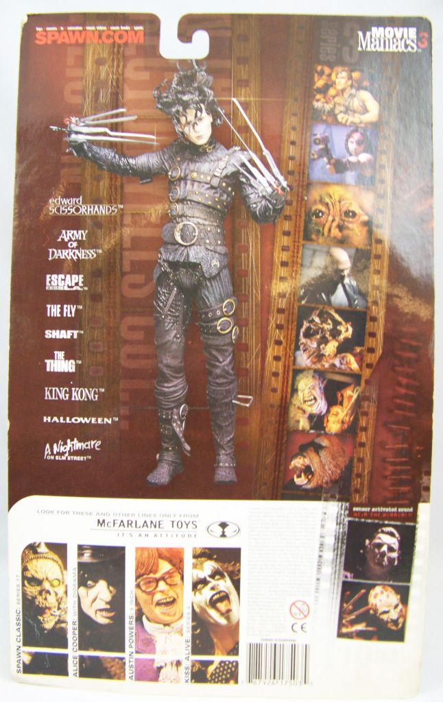 Edward Scissorhands - Movie Maniacs 3 - McFarlane Toys 02