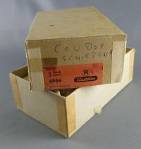 Elastolin - Cow-Boys - Empty box for 3 Footed masked bank robber ref 6986