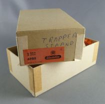 Elastolin - Cow-Boys - Empty box for 3 Footed rifle on chest ref 6980