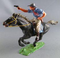 Elastolin - Cow-boys - Mounted firing pistol (ref 6992)