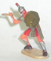 Elastolin - Historex 40mm - Romans - Footed fighting defending sword (ref 8422-4)