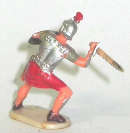 Elastolin - Historex 40mm - Romans - Footed fighting defending sword (ref 8422-4)