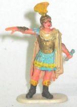 Elastolin - Historex 40mm - Romans - Footed general giving orders (ref 8410-4)