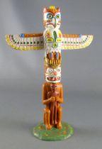 Elastolin - Indiens - Grand Totem (réf 6800)