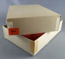 Elastolin - Middle age - Empty box for 1 Mounted with axe ref 8854