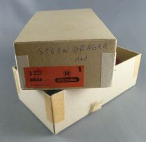 Elastolin - Middle age - Empty box for 3 Footed catapulte servant with rock ref  8836