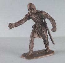 Elastolin - Moyen-âge - Piéton servant de catapulte (réf 8835) Plastique souple