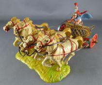 Elastolin - Romains - Char de guerre Quadrige (réf 9864)