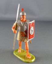 Elastolin - Romans - Footed marching with pilum white dress (ref  8401)