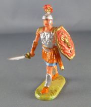 Elastolin - Romans - Footed marching with sword (red shield) (ref 8402)