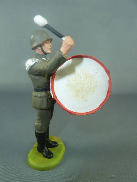 Elastolin - WW2 - Germans - Fanfare Major drum (ref 10258)