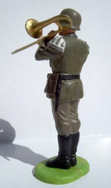 Elastolin - WW2 - Germans - Fanfare trombone (large) (ref 10250)