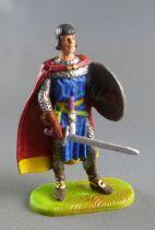Elastolin Preiser - Middle age - Footed Prince Vaillant (blue) (ref  8801)