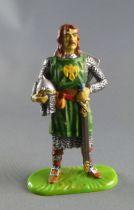 Elastolin Preiser - Moyen-âge - Piéton Gouvion (vert) (réf  8802)