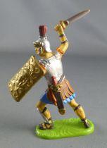 Elastolin Preiser - Romains - Piéton combattant attaquant glaive (réf 8423)