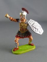 Elastolin Preiser - Romans - Footed fighting officer defending sword (ref 8425)