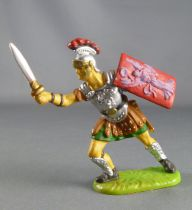 Elastolin Preiser - Romans - Footed officer attacking sword (ref 8424)