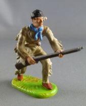 Elastolin Preiser - Trappers - Footed advancing with rifle (ref 6982)