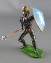 Elastolin Preiser - XV / XVIII century - Swiss Guard Footed (blue shield) fighting with masse (ref  8932)