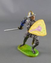 Elastolin Preiser - XV / XVIII century - Swiss Guard Footed defending with sword (ref  8940)